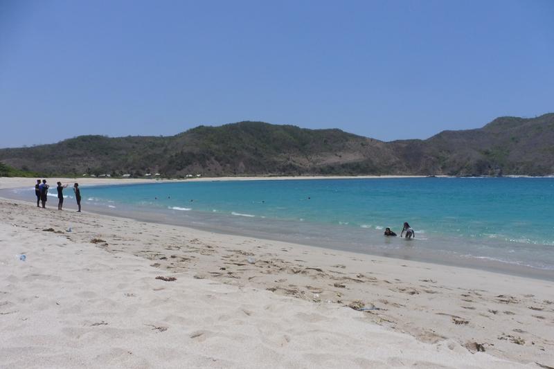 plage de Lombok...