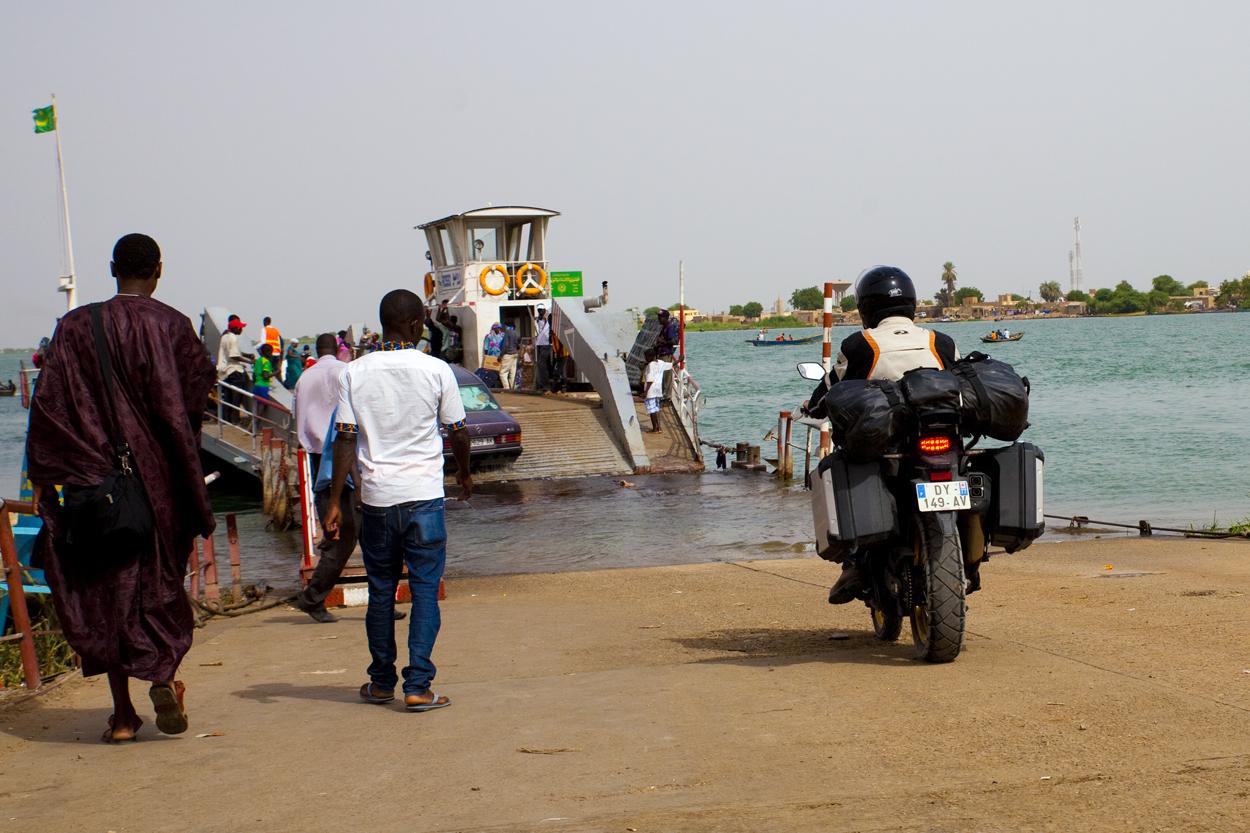 fred et aldo en africa twin vers Dakar