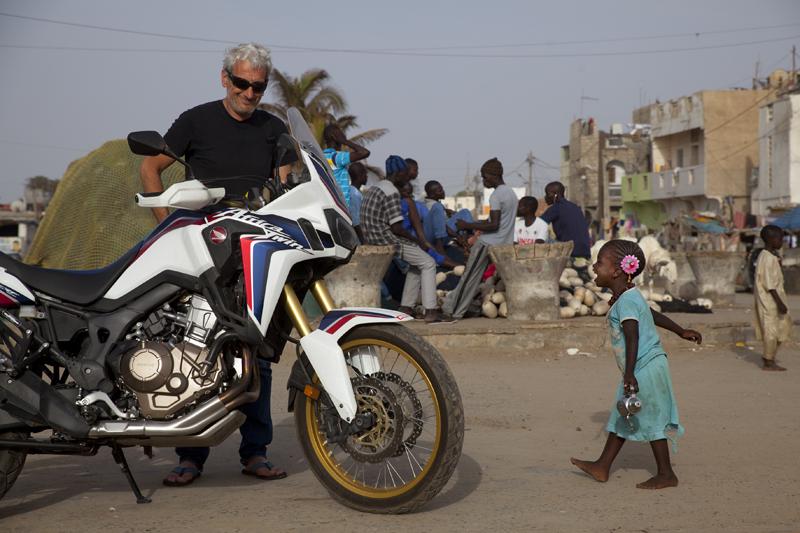 Africa Twin au Sénégal