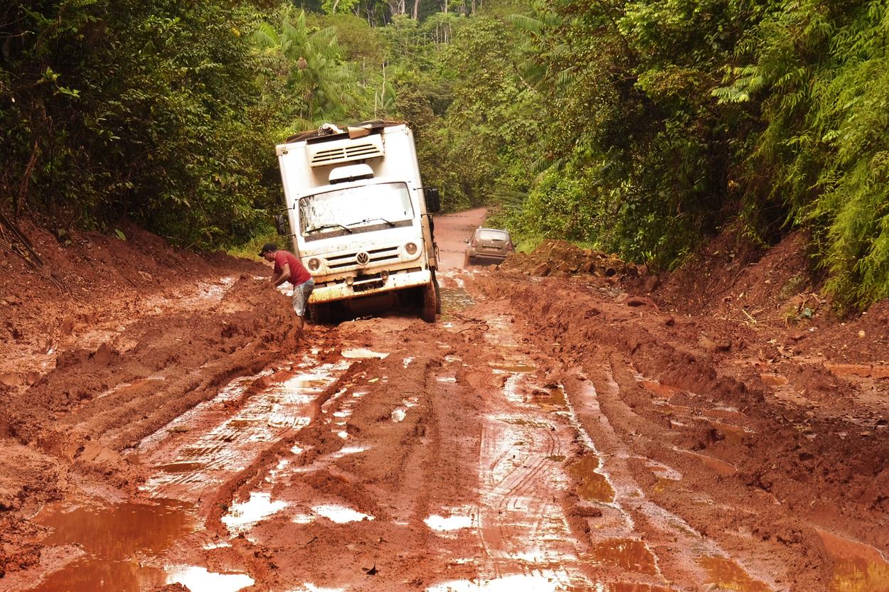 sur la route de Macapa