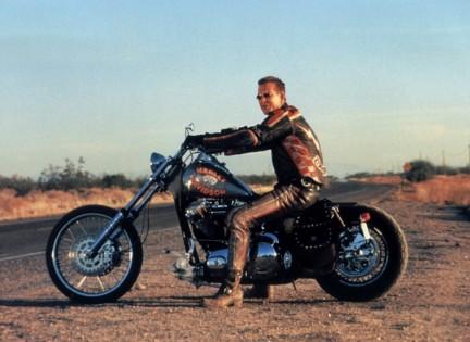 Harley And Davidson Et L Homme Au Santiag