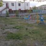 Cour d'école à Ölgiy