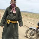 Motard Mongole