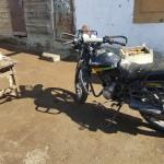 La moto de nos hôtes