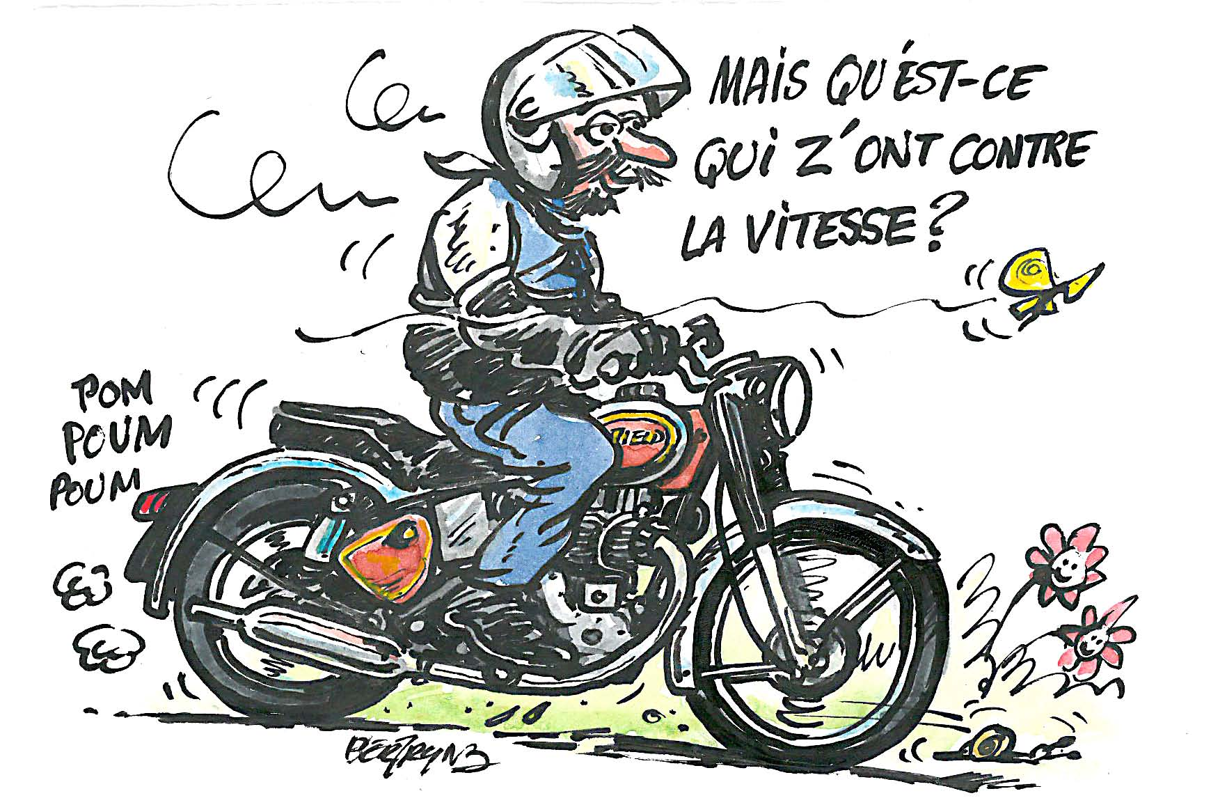 Le blog de la r daction le blog de la r daction - Dessin humoristique motard ...