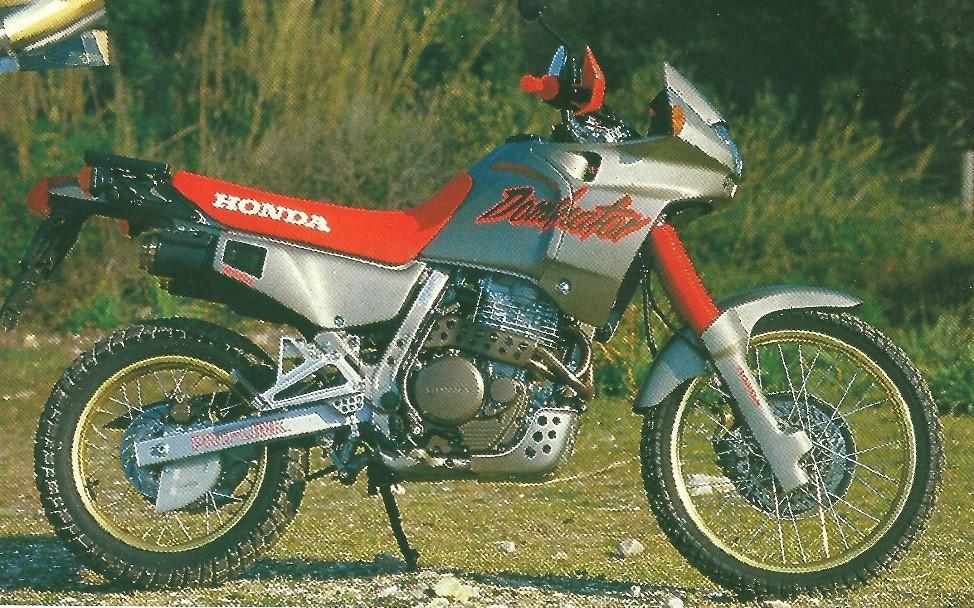 Retour  U00e0 1988   Essais De La Honda Nx650 Dominator  U00e0