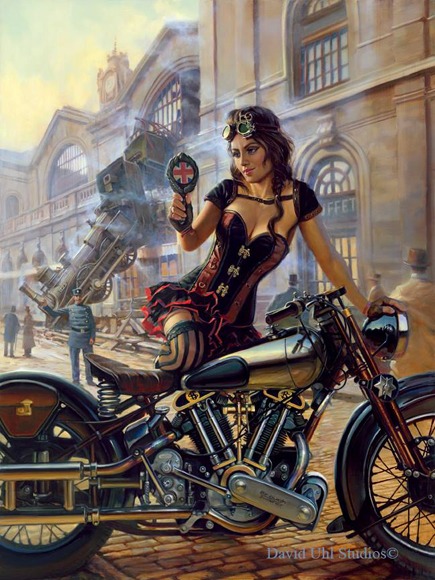 Saboteur by David Uhl