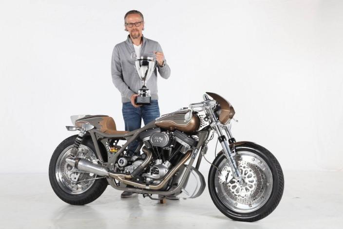 Harley modifiée