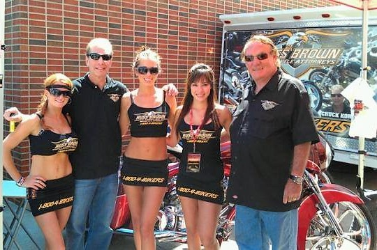 Russ_brown_chuck_koro_sponsors_daytona_bike_week1